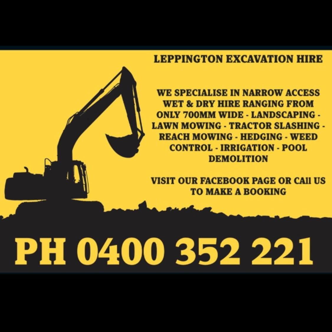 Leppington Excavation Hire Pty Ltd