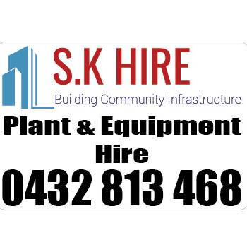 Sk Hire - Plant & Equipment